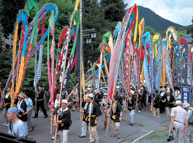 国の無形文化財である祭事が開催されます。