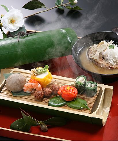 信州の味をふんだんにお楽しみいただけるお料理